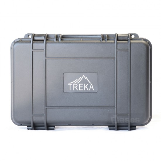 TREKA CASES - plastic molded/waterproof